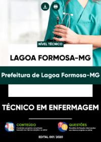Técnico em Enfermagem - Prefeitura de Lagoa Formosa-MG