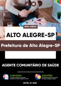 Agente Comunitário de Saúde - Prefeitura de Alto Alegre-SP