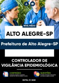 Controlador de Vigilância Epidemiológica - Prefeitura de Alto Alegre-SP