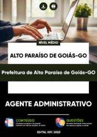 Agente Administrativo - Prefeitura de Alto Paraíso de Goiás-GO