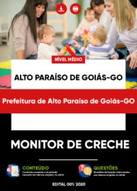 Monitor de Creche - Prefeitura de Alto Paraíso de Goiás-GO