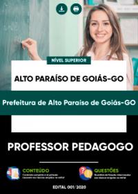 Professor Pedagogo - Prefeitura de Alto Paraíso de Goiás-GO