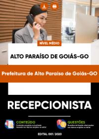 Recepcionista - Prefeitura de Alto Paraíso de Goiás-GO