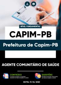 Agente Comunitário de Saúde - Prefeitura de Capim-PB
