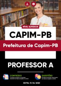 Professor A - Prefeitura de Capim-PB