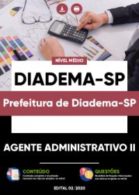 Agente Administrativo II - Prefeitura de Diadema-SP