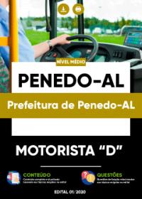 Motorista D - Prefeitura de Penedo-AL