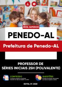 Professor de Séries Iniciais 25h (Polivalente) - Prefeitura de Penedo-AL