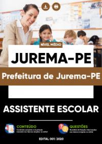 Assistente Escolar - Prefeitura de Jurema-PE