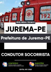 Condutor Socorrista - Prefeitura de Jurema-PE