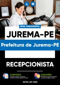 Recepcionista - Prefeitura de Jurema-PE