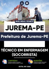 Técnico em Enfermagem (Socorrista) - Prefeitura de Jurema-PE