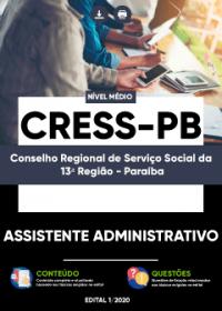 Assistente Administrativo - CRESS-PB