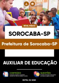 Auxiliar de Educação - Prefeitura de Sorocaba-SP