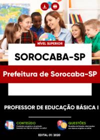 Professor de Educação Básica I - Prefeitura de Sorocaba-SP