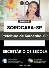 Secretário de Escola - Prefeitura de Sorocaba-SP