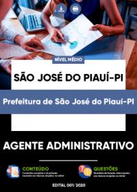Agente Administrativo - Prefeitura de São José do Piauí-PI