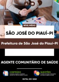 Agente Comunitário de Saúde - Prefeitura de São José do Piauí-PI