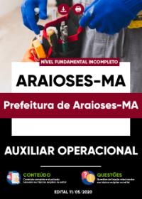 Auxiliar Operacional - Prefeitura de Araioses-MA
