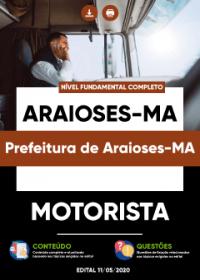 Motorista - Prefeitura de Araioses-MA
