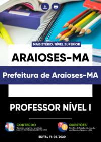 Professor Nível I - Prefeitura de Araioses-MA