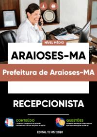 Recepcionista - Prefeitura de Araioses-MA