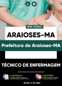 Técnico de Enfermagem - Prefeitura de Araioses-MA