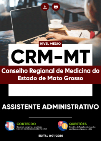 Assistente Administrativo - CRM-MT