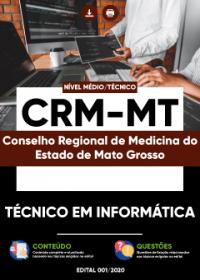 Técnico em Informática - CRM-MT