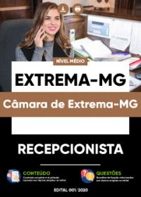 Recepcionista - Câmara de Extrema-MG