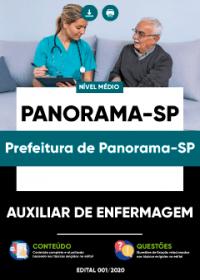 Auxiliar de Enfermagem - Prefeitura de Panorama-SP