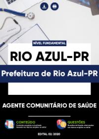 Agente Comunitário de Saúde - Prefeitura de Rio Azul-PR