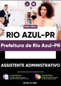 Assistente Administrativo - Prefeitura de Rio Azul-PR