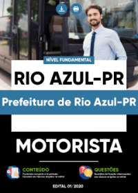 Motorista - Prefeitura de Rio Azul-PR