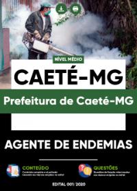 Agente de Endemias - Prefeitura de Caeté-MG