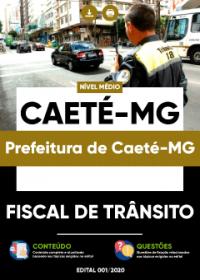 Fiscal de Trânsito - Prefeitura de Caeté-MG