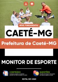 Monitor de Esporte - Prefeitura de Caeté-MG