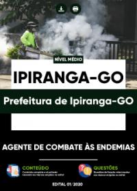 Agente de Combate às Endemias - Prefeitura de Ipiranga-GO