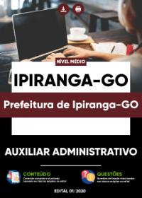 Auxiliar Administrativo - Prefeitura de Ipiranga-GO