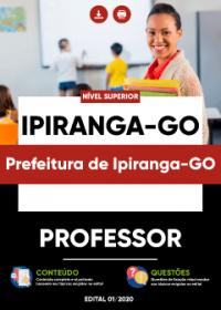 Professor - Prefeitura de Ipiranga-GO