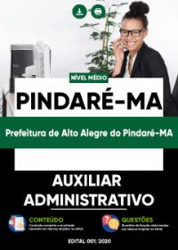 Auxiliar Administrativo - Prefeitura de Alto Alegre do Pindaré-MA
