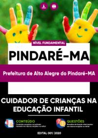 Cuidador de Crianças na Educação Infantil - Pref. de Alto Alegre do Pindaré-MA