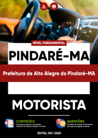 Motorista - Prefeitura de Alto Alegre do Pindaré-MA