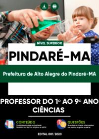 Professor do 1º ao 9º ano (Ciências) - Prefeitura de Alto Alegre do Pindaré-MA