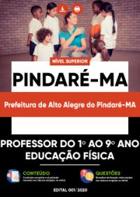 Professor do 1º ao 9º ano (Educação Física) - Pref. de Alto Alegre do Pindaré-MA