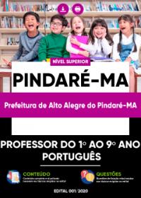 Professor do 1º ao 9º ano (Português) - Prefeitura de Alto Alegre do Pindaré-MA