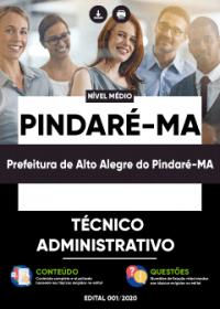 Técnico Administrativo - Prefeitura de Alto Alegre do Pindaré-MA