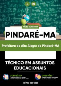 Técnico em Assuntos Educacionais - Prefeitura de Alto Alegre do Pindaré-MA