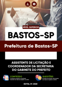 Assistente de Licitação e Coordenador da Secretaria - Prefeitura de Bastos-SP