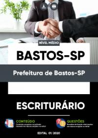 Escriturário - Prefeitura de Bastos-SP